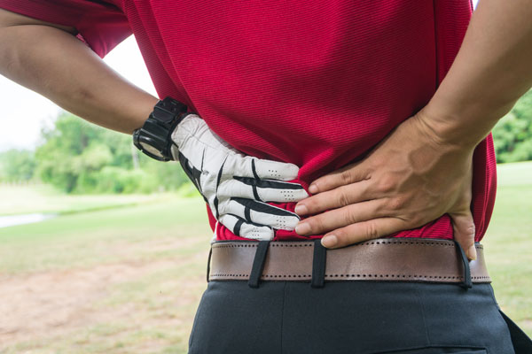 lower back golf pain